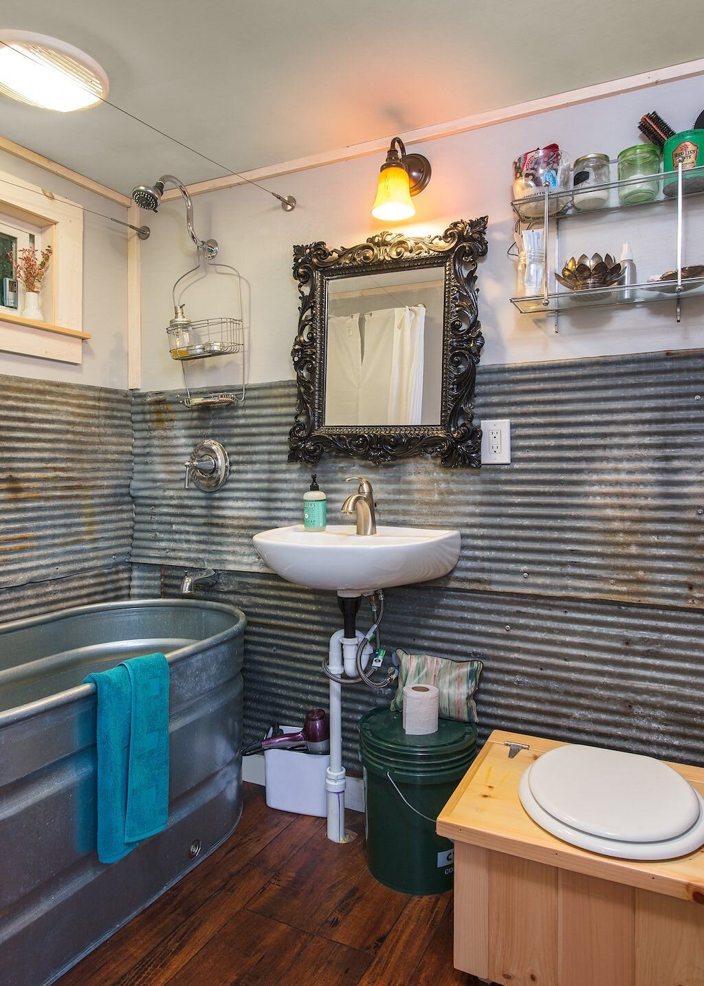 Bathroom Renovations Vermont: A Tiny House Built With Salvaged Materials