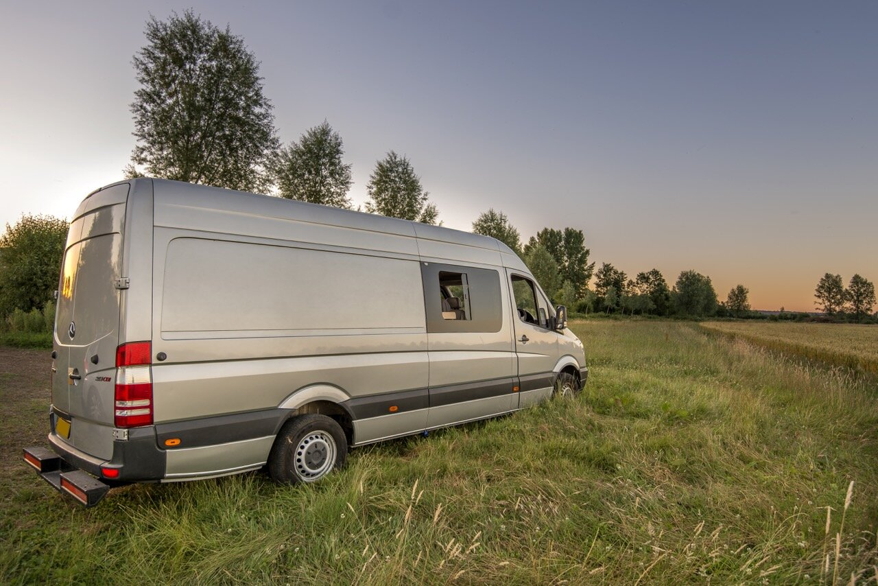 Jack Richens Crafts A Custom Sprinter Van Camper For 18500