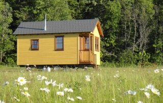 Domaine Floravie's Tiny House Chalets are Built with Sustainability in Mind
