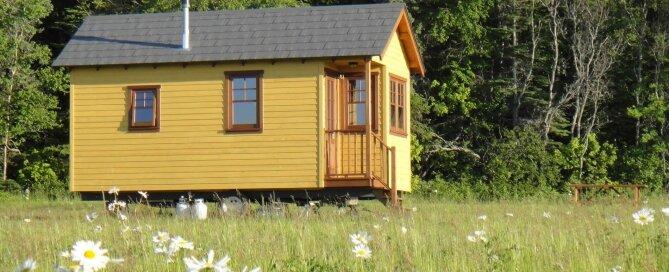 Tiny House Chalets - Domaine Floravie - France - Exterior - Humble Homes