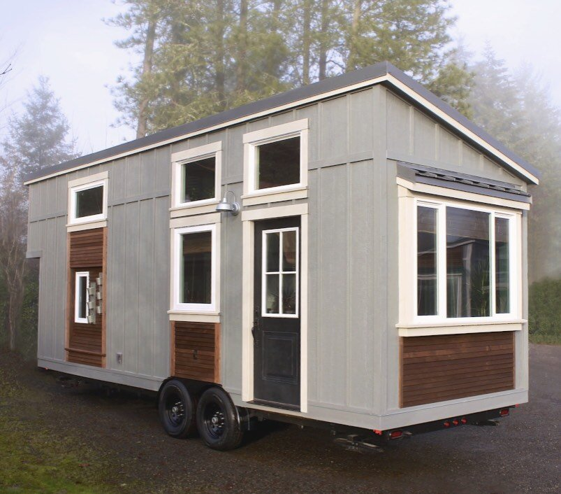 Urban Craftsman Is An Eclectic Tiny House On Wheels From