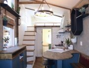 Urban Craftsman - Handcrafted Movement - Pacific Northwest Oregon - Kitchen and Staircase - Humble Homes