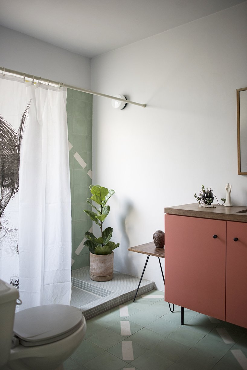 1970s Home Restoration - Juan Pablo Ochoa + Ruben Padilla - Mexico - Bathroom - Humble Homes