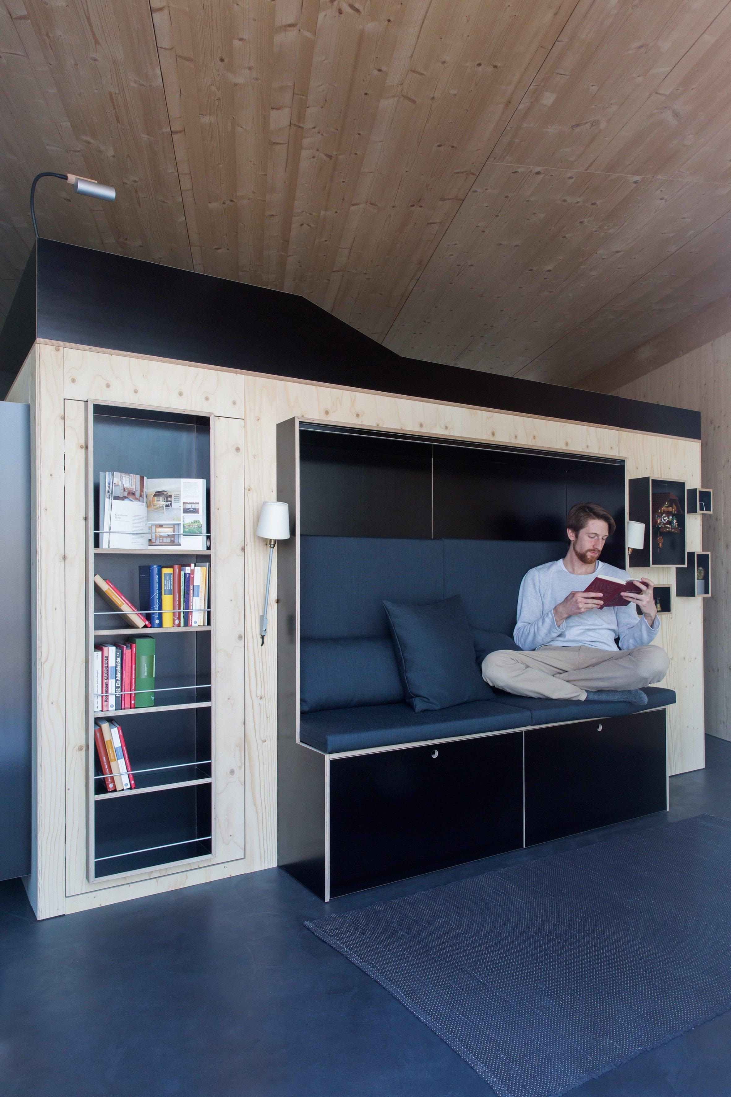 Kammerspiel - Nils Holger Moormann - Germany - Interior 2 - Humble Homes