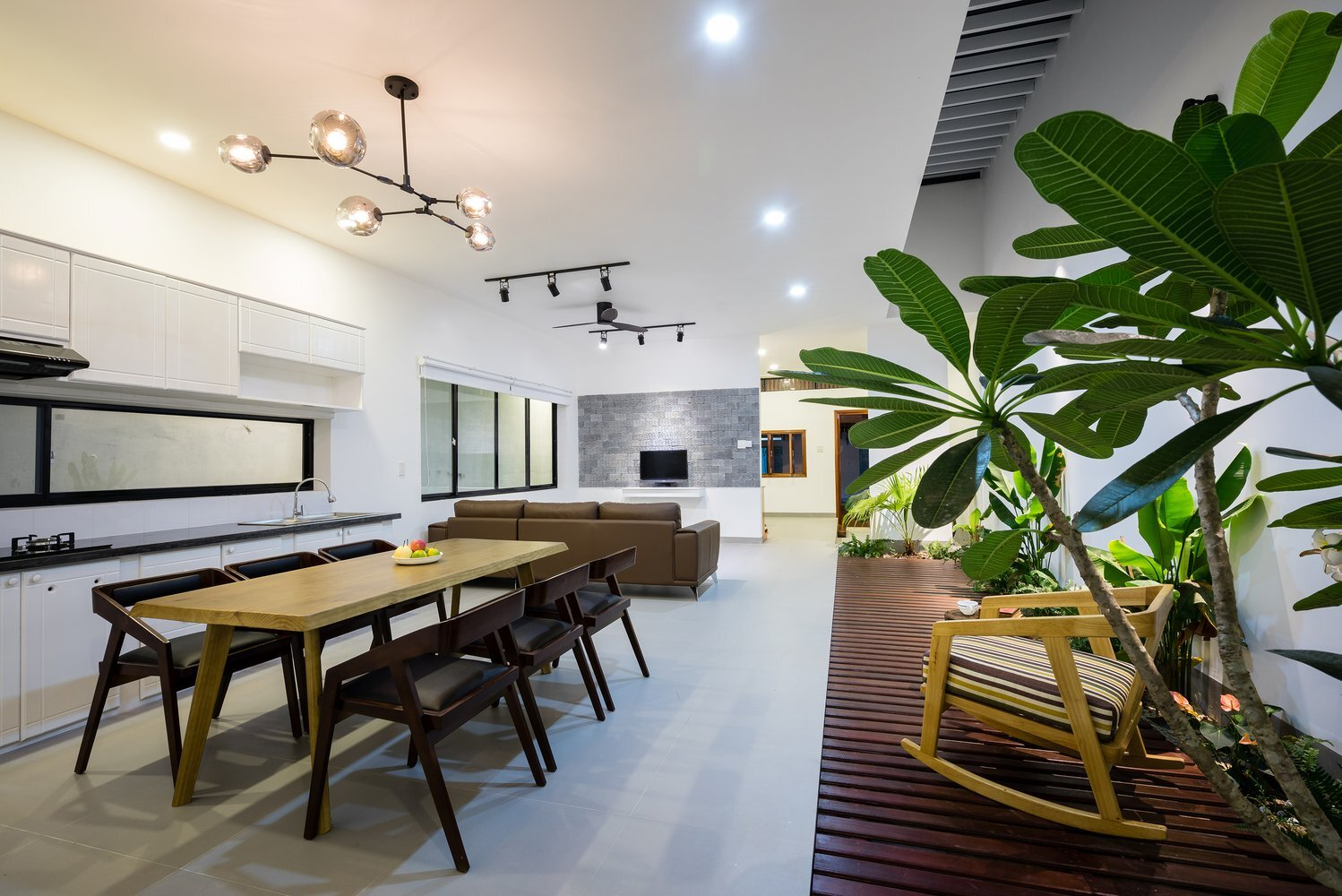 TP House - Sawadeesign Studio - Vietnam - Living Area - Humble Homes