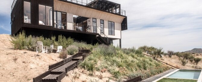 The Folding House - B+V Arquitectos - Chile - Exterior - Humble Homes