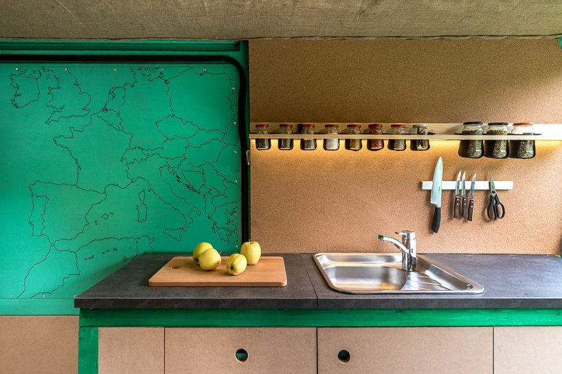 Van Conversion - Norbert Juhász - Hungary - Kitchen - Humble Homes