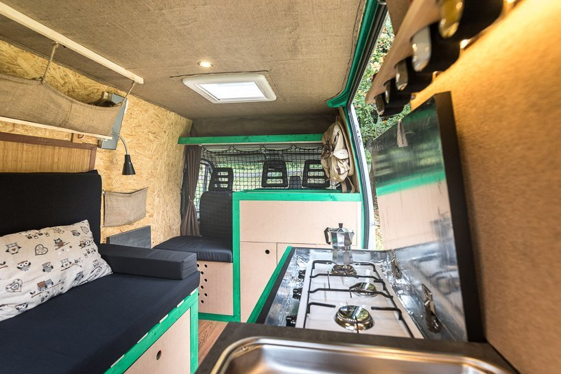 Van Conversion - Norbert Juhász - Hungary - Living Area - Humble Homes