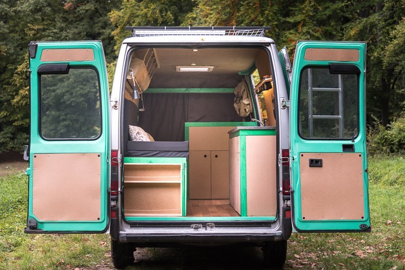 Van Conversion - Norbert Juhász - Hungary - Rear Entry - Humble Homes