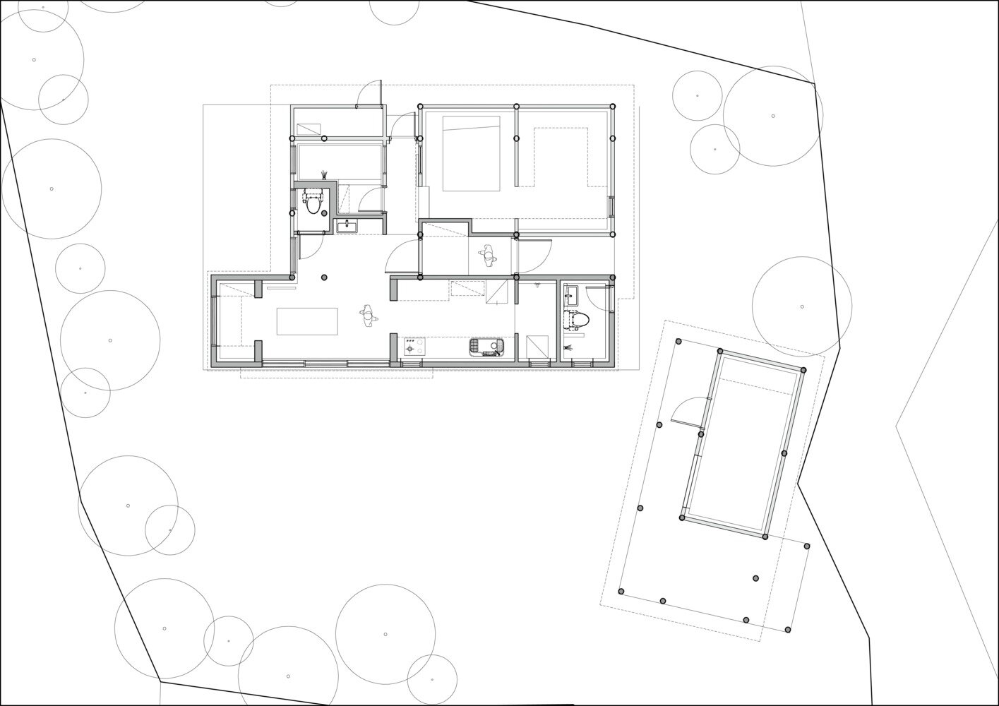 House Soboru - TIUM Architects - South Korea - Floor Plan - Humble Homes