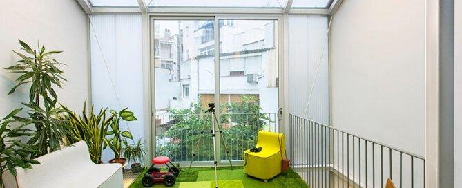 Living Garden Casa - ERA Architects - Spain - Sitting Area - Humble Homes