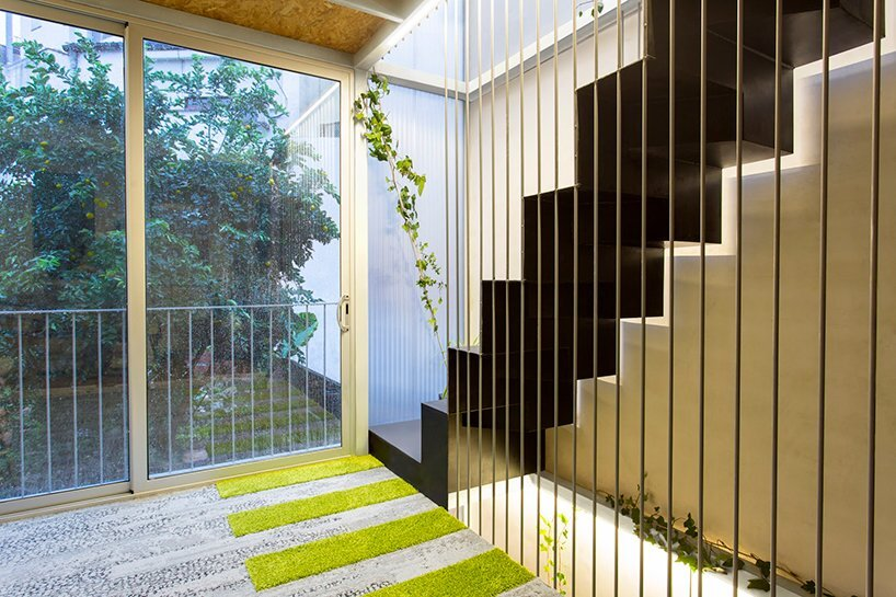 Living Garden Casa - ERA Architects - Spain - Staircase - Humble Homes
