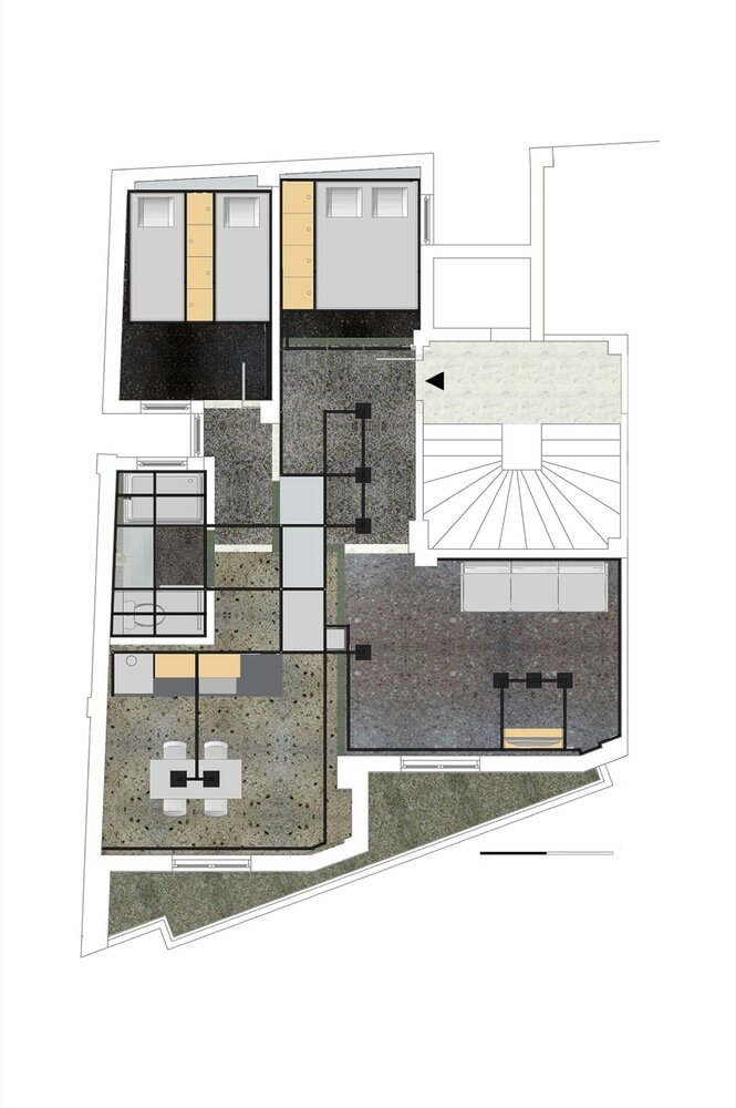 POLYTOPO - Z-level - Greece - Floor Plan - Humble Homes