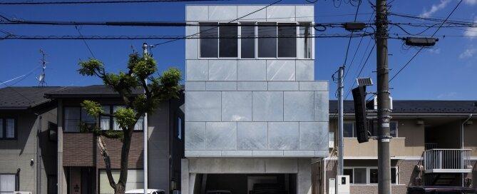 SHINBOHON HOUSE K - Yuichi Yoshida & Associates - Japan - Exterior - Humble Homes