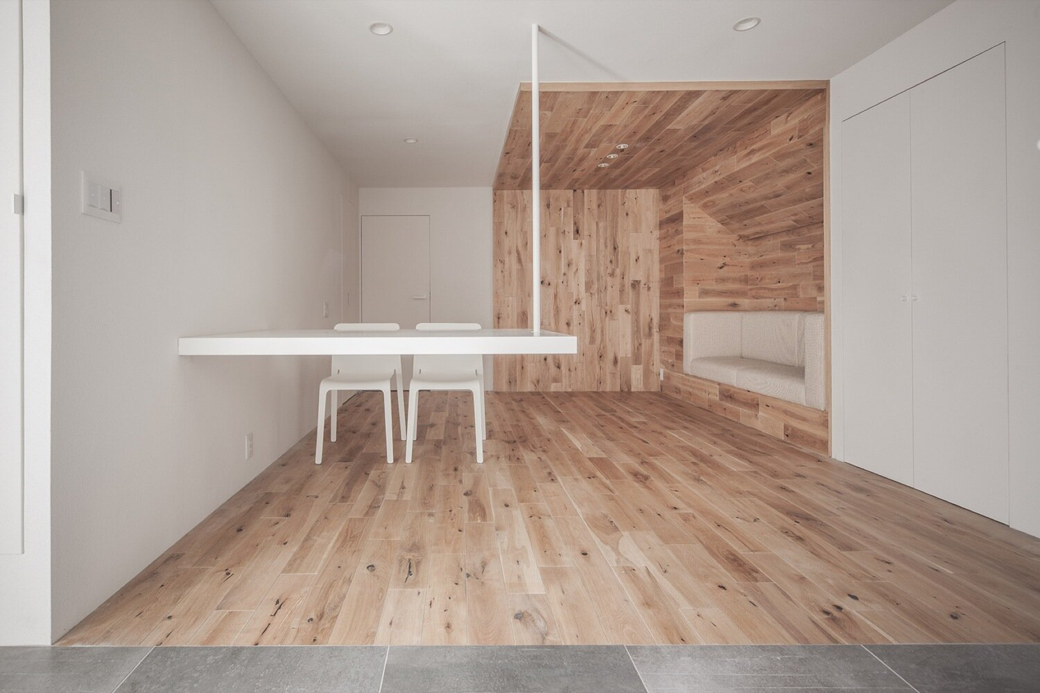 Shibuya Apartment 201 - Hiroyuki Ogawa Architects - Japan - Living Area 1 - Humble Homes
