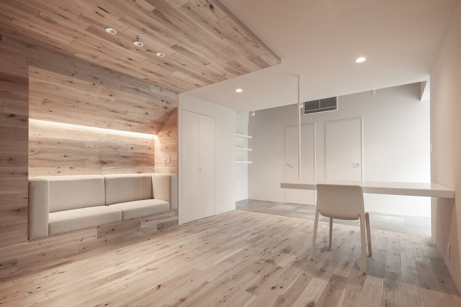 Shibuya Apartment 201 - Hiroyuki Ogawa Architects - Japan - Living Area 2 - Humble Homes