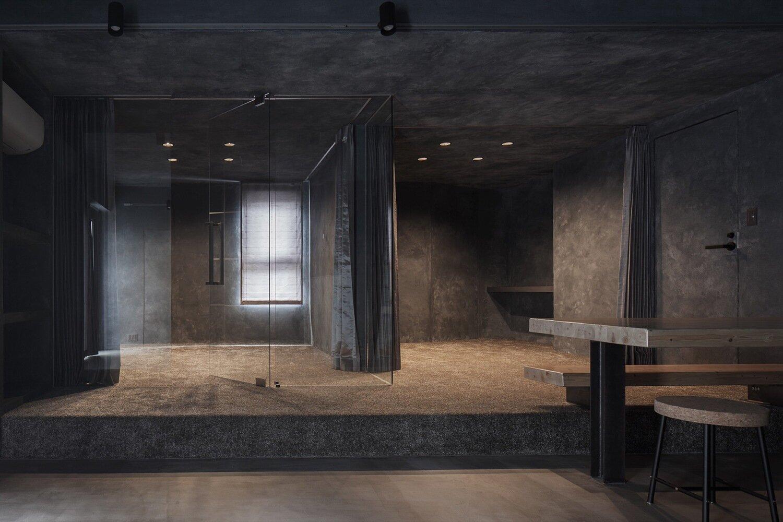 Shibuya Apartment 202 - Hiroyuki Ogawa Architects - Japan - Living Area 1 - Humble Homes