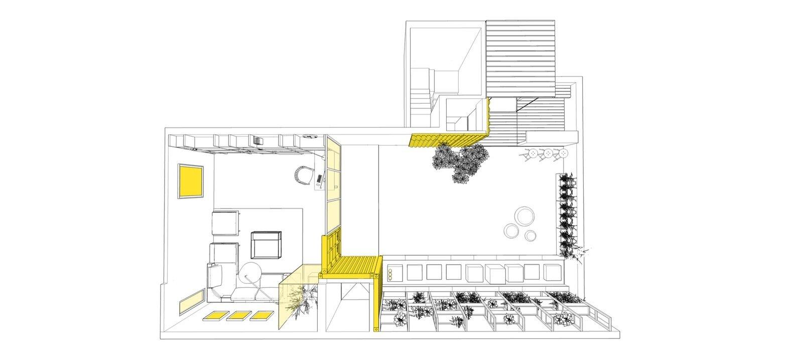 Studio for Two - Studio Wood - India - Floor Plan - Humble Homes