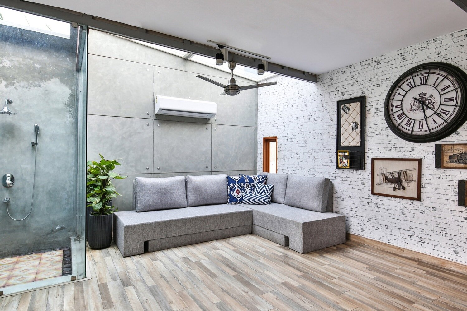 Studio for Two - Studio Wood - India - Living Room Sofa - Humble Homes
