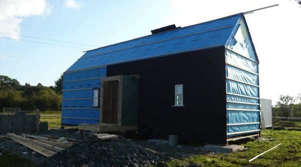 Moisture Barrier and Cladding Front