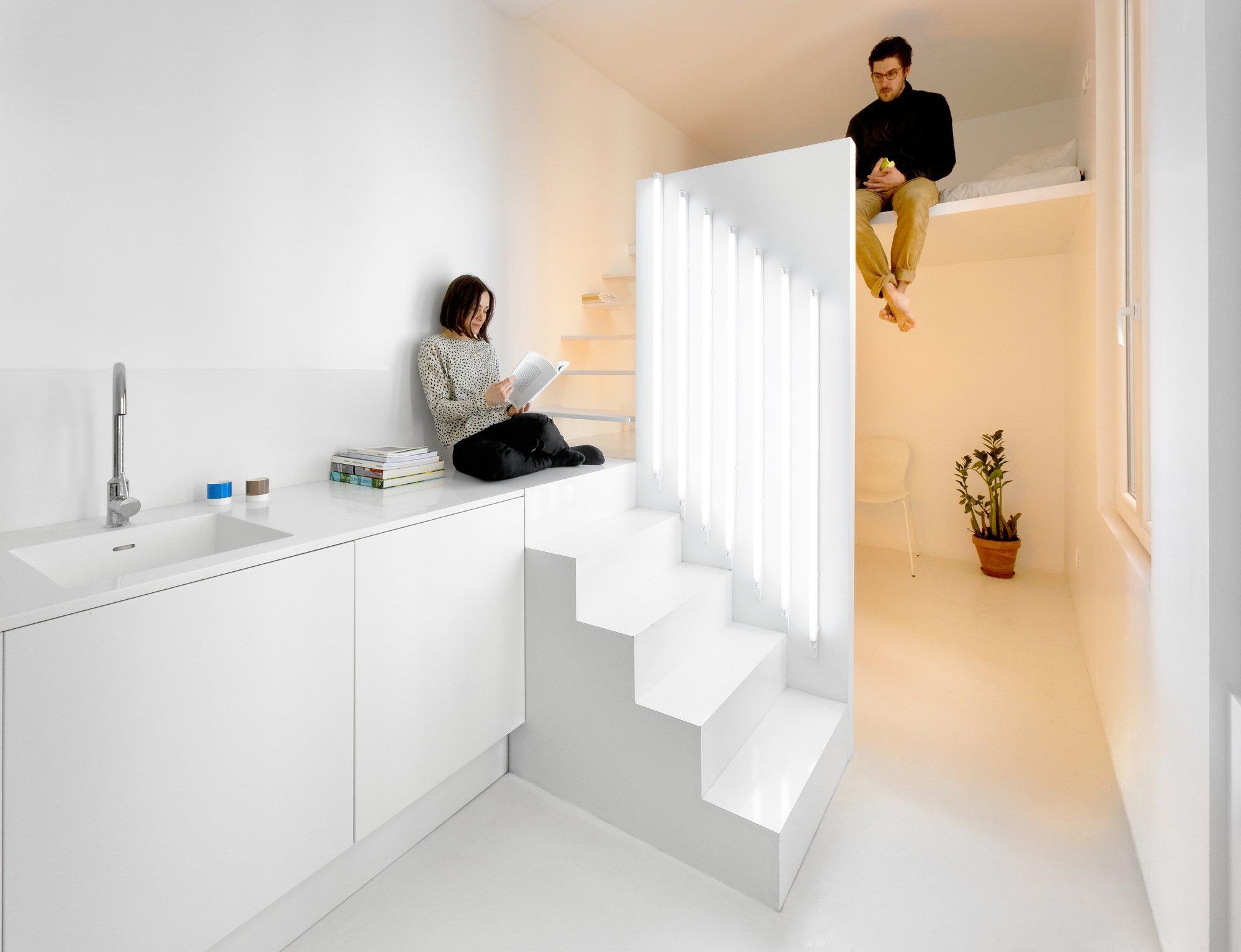 Appartement Spectral - BETILLON DORVAL‐BORY - Paris - France - Tiny Apartment - Loft - Humble Homes