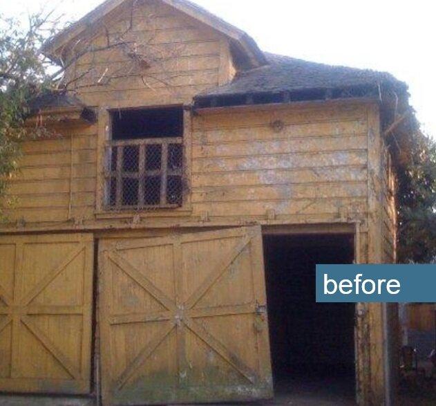 Carriage House Transformed into a Tiny House by Christi Azevedo