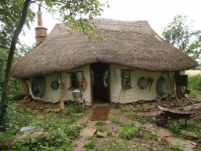 Small Cob Cottage By Michael Buck