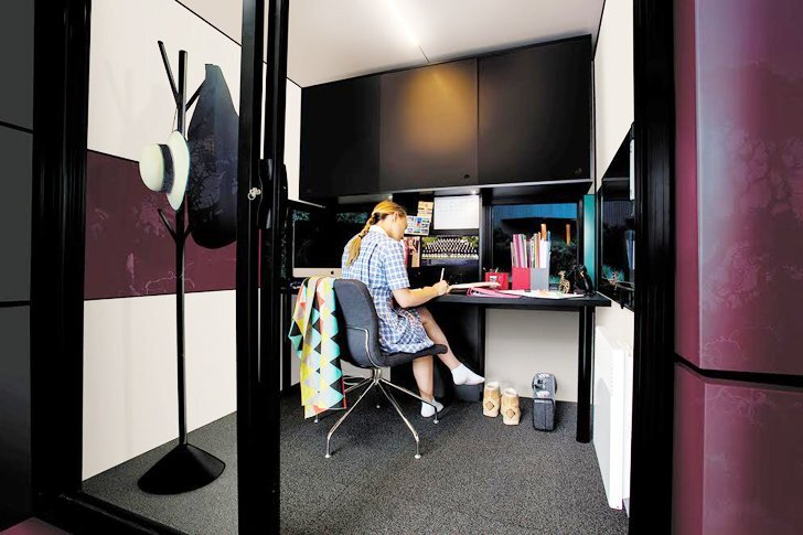 Harwyn Pods by Jason Fremder - Melbourne Australia - Interior - Humble Homes