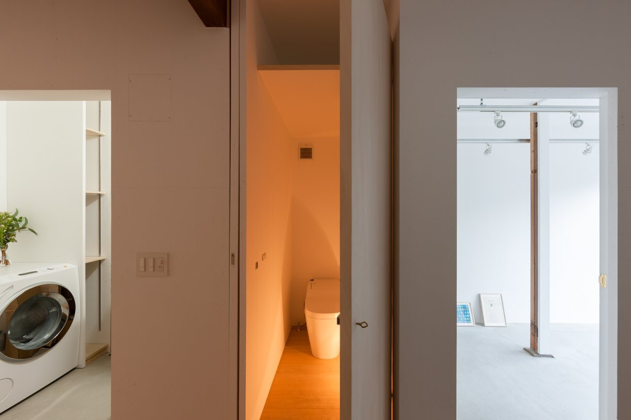 House in Shichiku - Shimpei Oda Architect's Office - Small House - Bathroom - Humble Homes