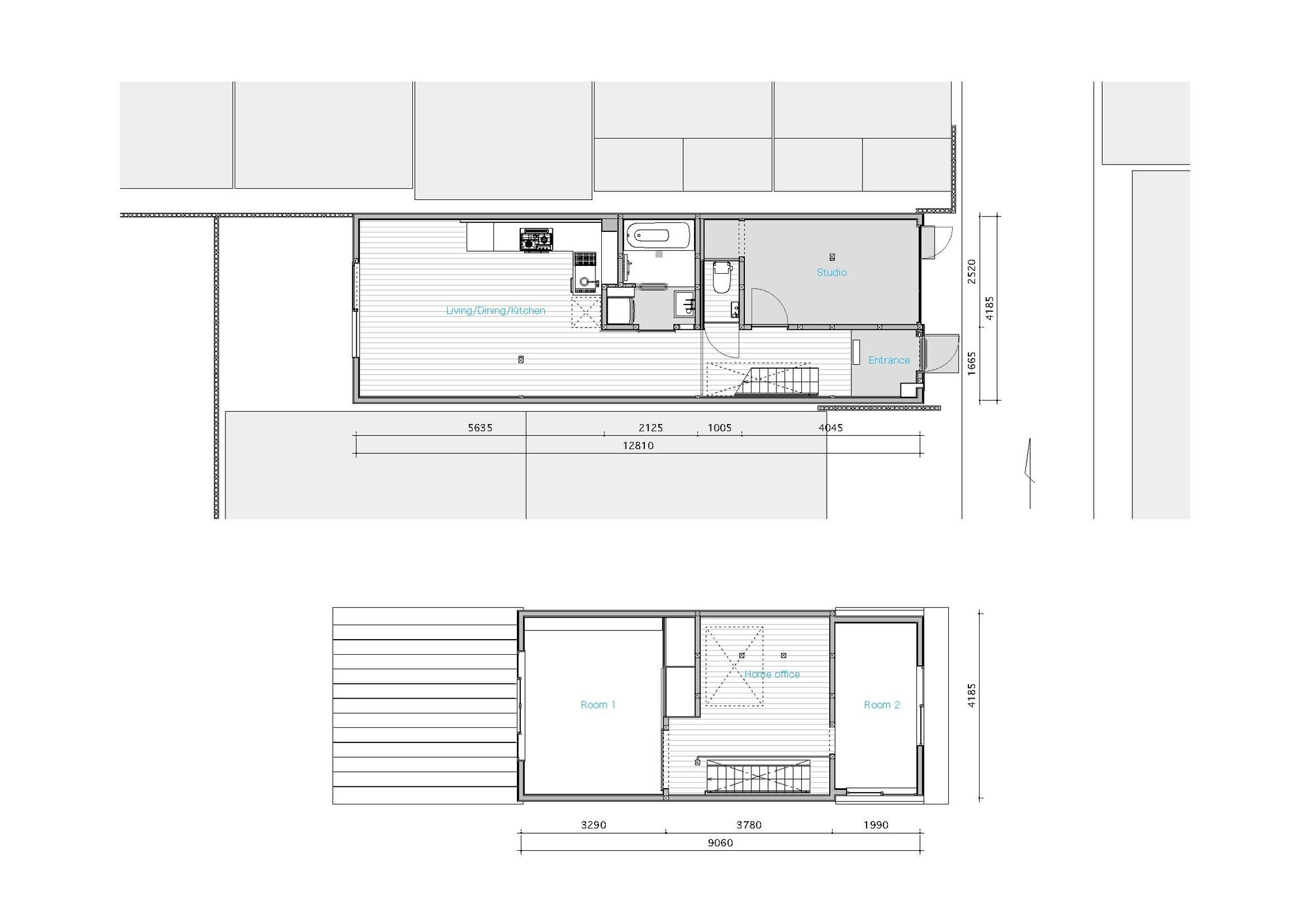 House in Shichiku - Shimpei Oda Architect's Office - Small House - Floor Plans - Humble Homes