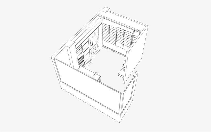 Multifunctional Studio by Raanan Stern - Model - Tel-Aviv - Humble Homes