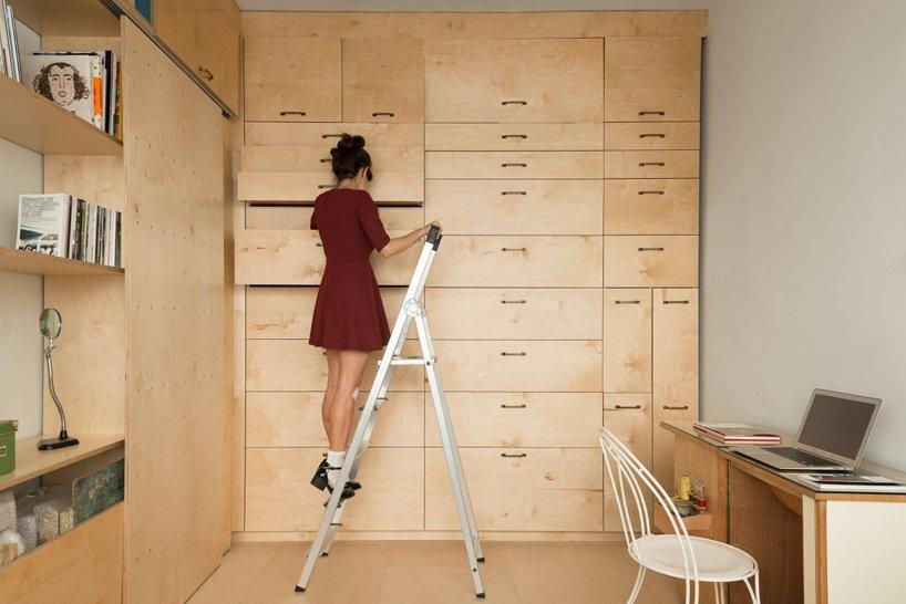 Multifunctional Studio by Raanan Stern - Storage 2 - Tel-Aviv - Humble Homes