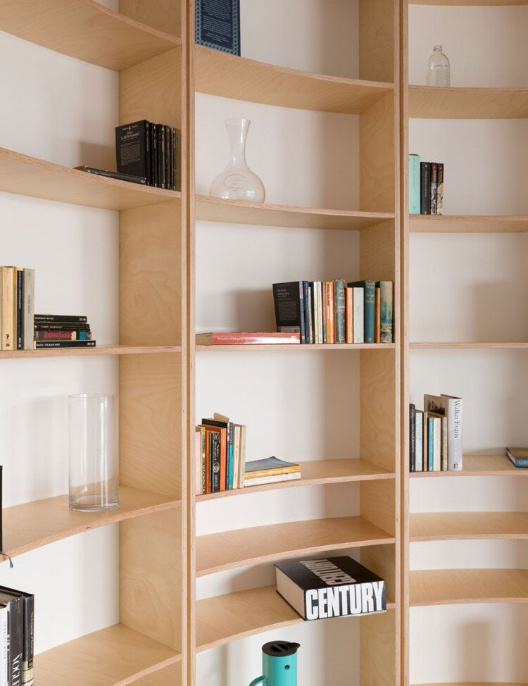 Southern Highlands House - Ben + Penna Architecture - Small Office - Shelving - Humble Homes