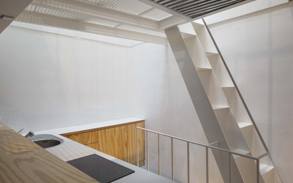 Tower Apartment by Agence SML - Paris - Kitchen - Tiny Apartment - Humble Homes