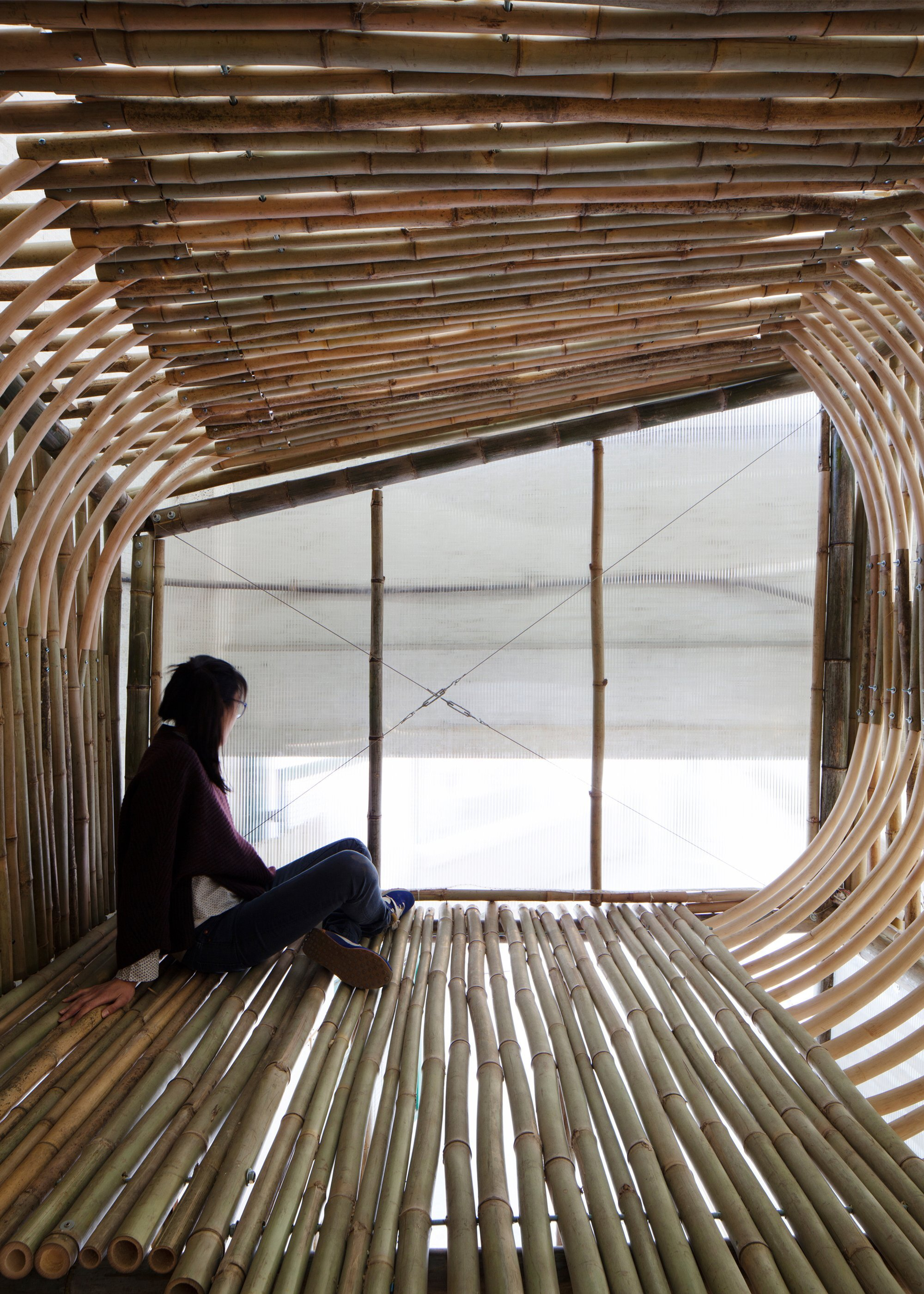 Bamboo Micro Houses Proposal - AFFECT-T - Micro House Loft - Humble Homes