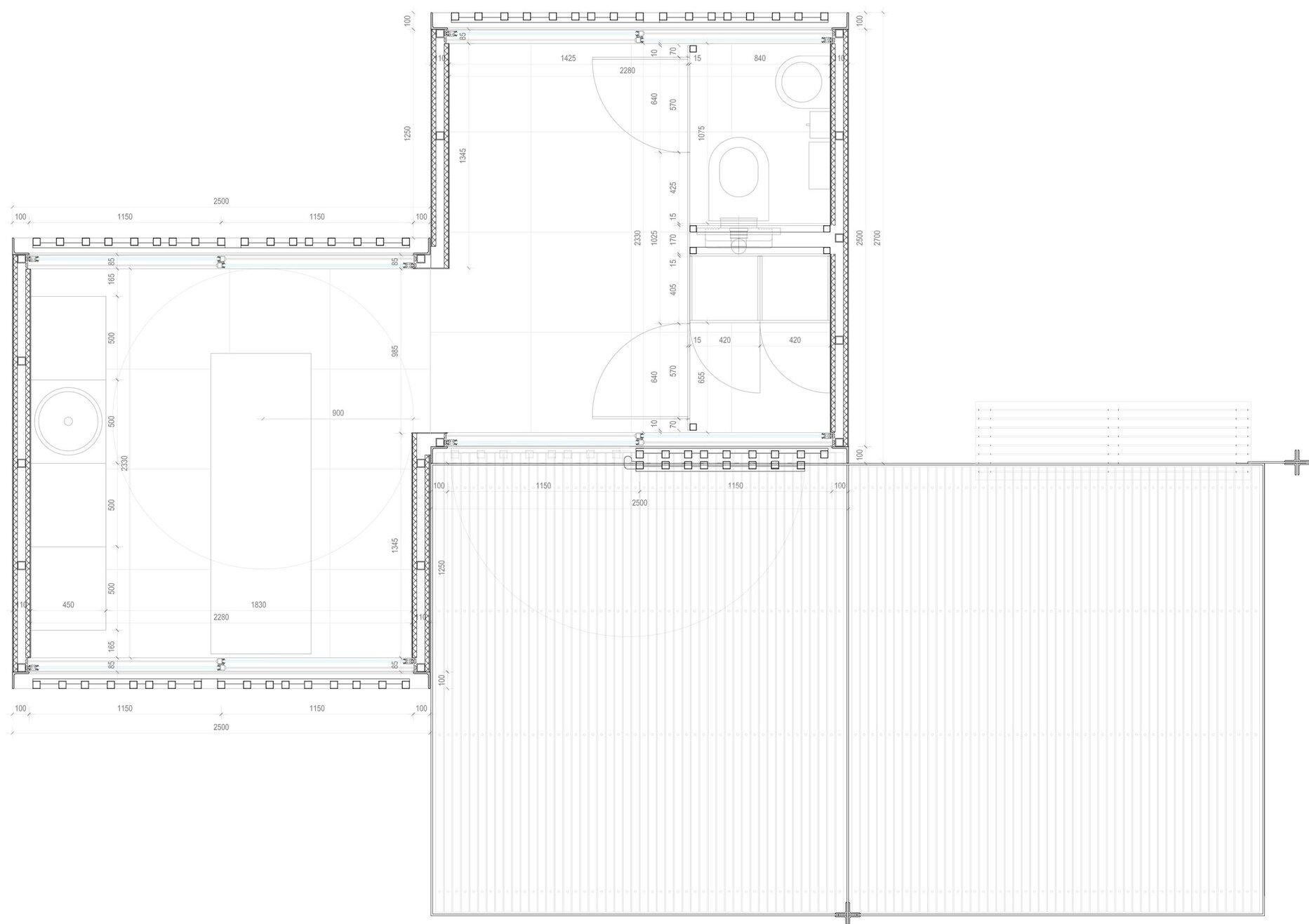 Beach Modules - Màrius Quintana Creus - Floor Plan - Humble Homes 2