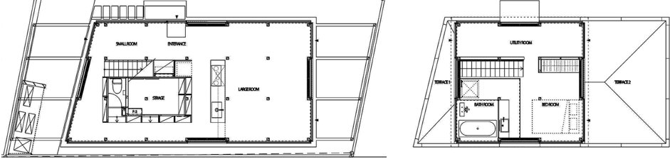 Double Circular Rings - Todoroki - Teppei Fujiwara Architects Labo - Small House Japan - Floor Plans - Humble-Homes