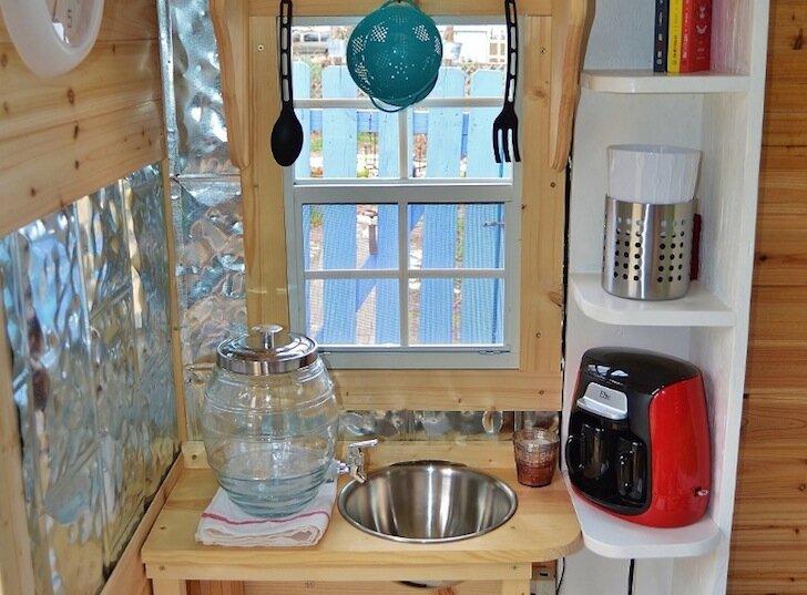 Hobbit Hutch - Writers Studio - Kitchen - Jim Magnum - Humble Homes
