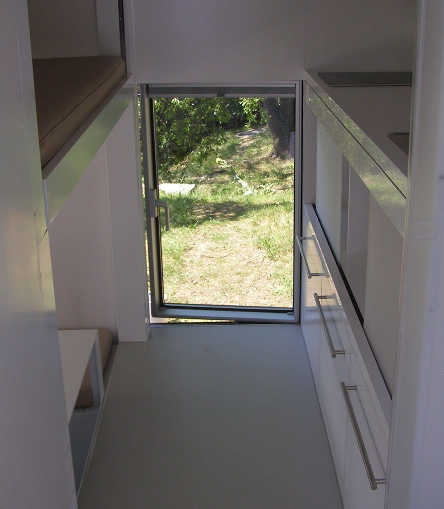 Micro Compact Home 016 - Richard Horden - Horden Cherry Lee Architects - Interior - Humble Home