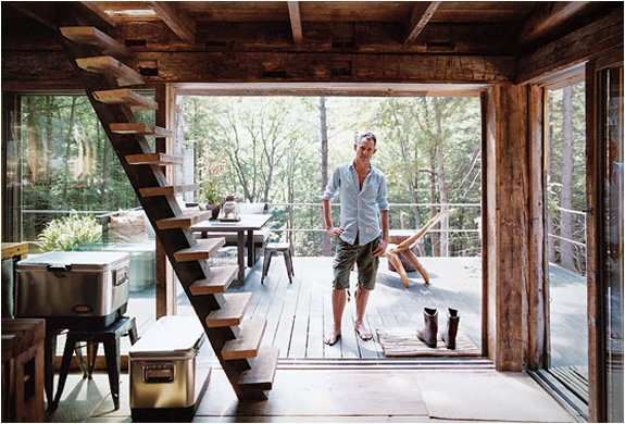 New York Cabin in the Woods 3 -  Scott Newkirk - Humble Homes