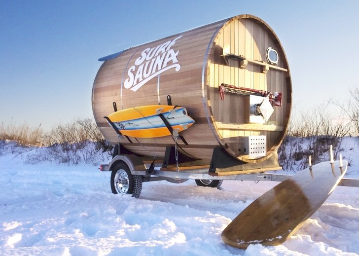 Portable Sauna - Surf Sauna - Portsmouth New Hampshire - Humble Homes