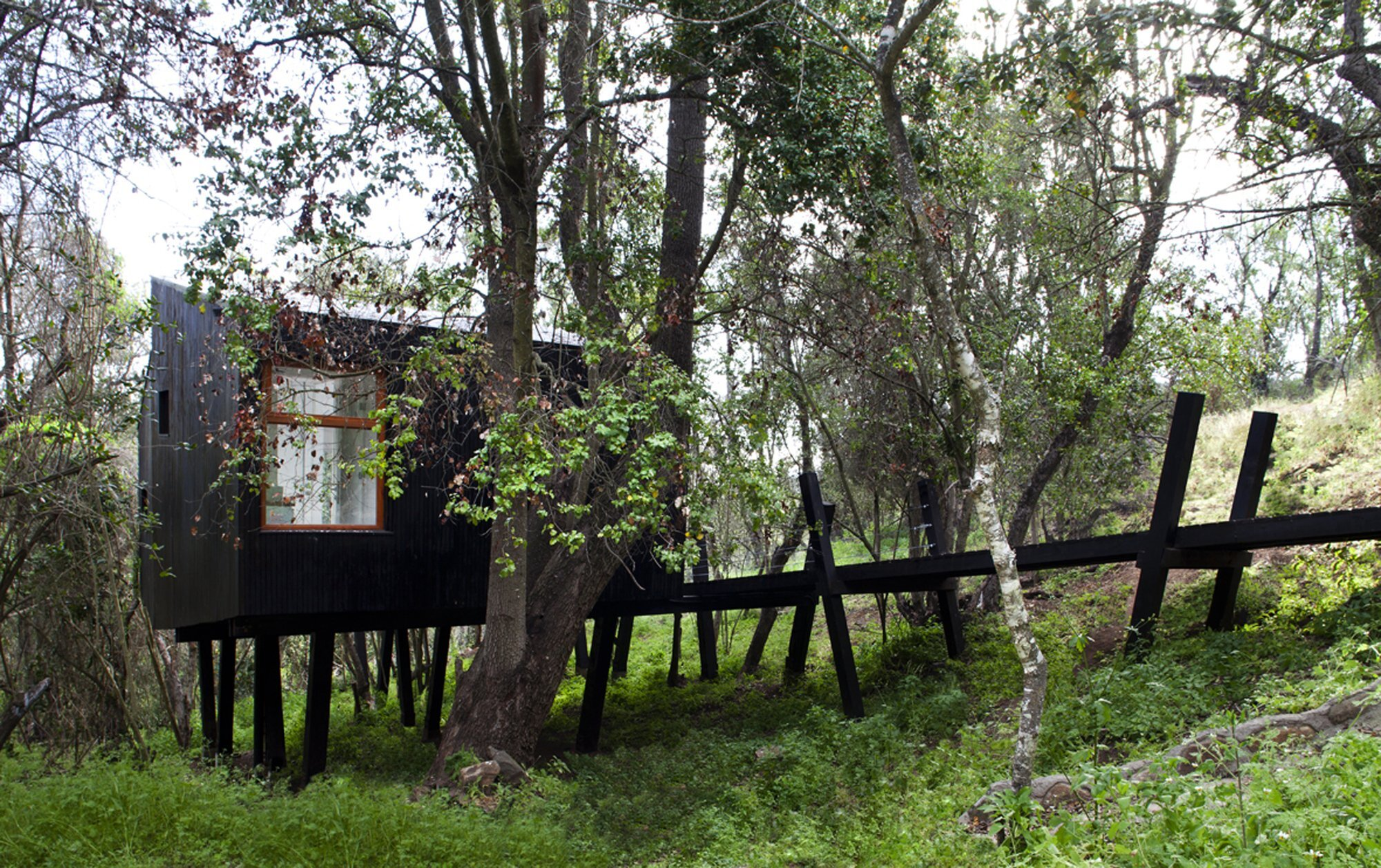 Quebrada House - UNarquitectura - Small House in Chile - Humble Homes