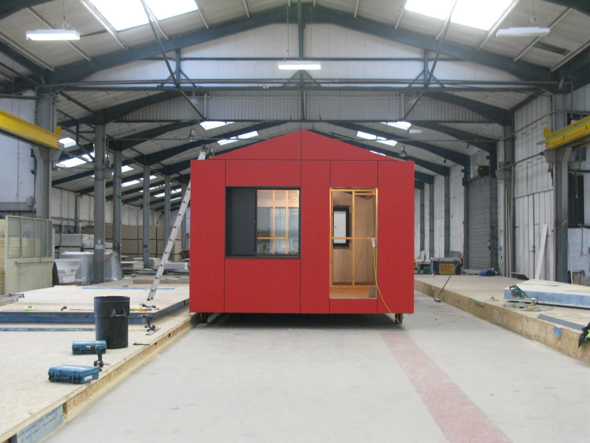 Richard Rogers - Pre-Fab Y-Cube - UK - Tiny House - Factory - Humble Homes