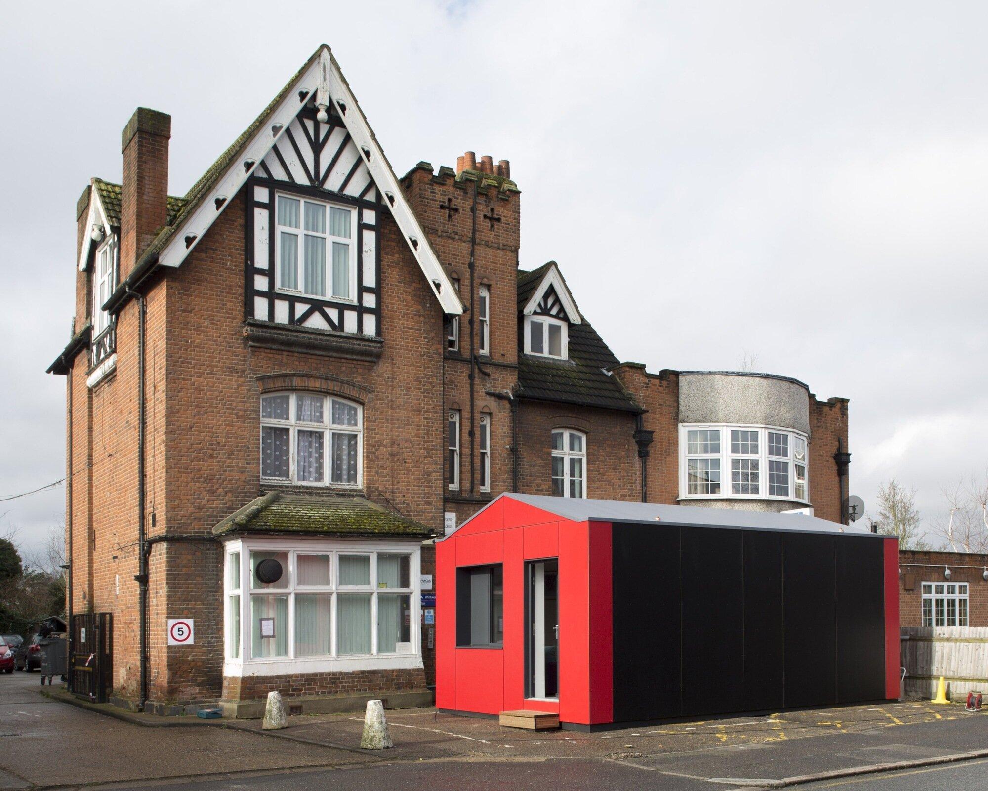 Richard Rogers - Pre-Fab Y-Cube - UK - Tiny House - Humble Homes