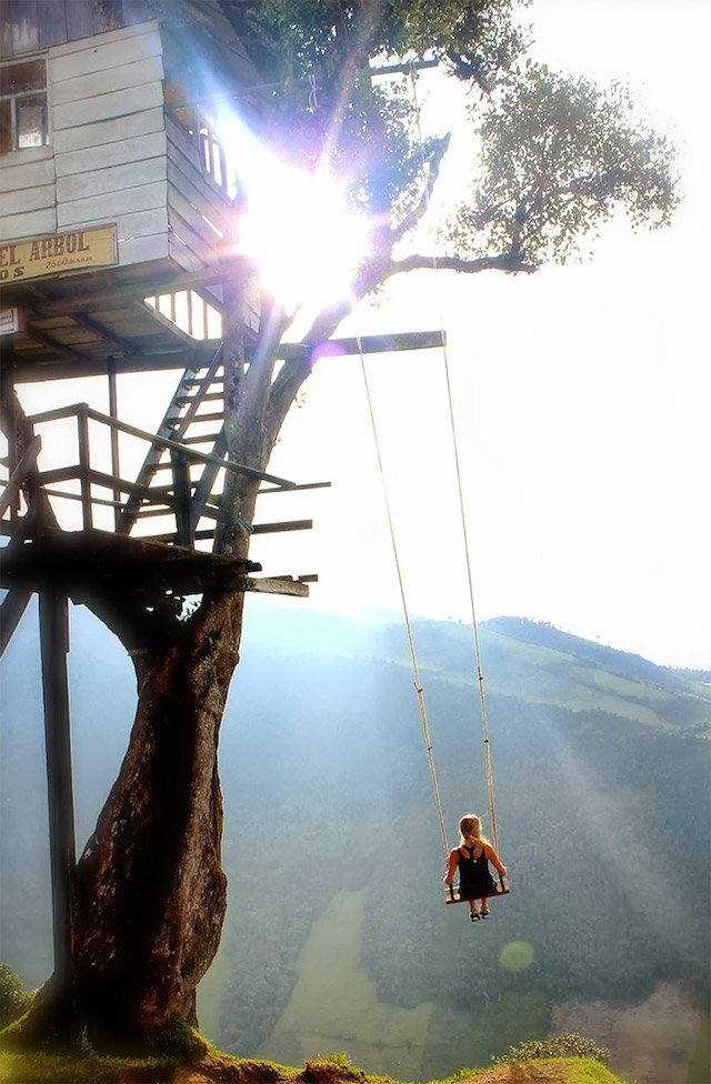 Treehouse Swing at Casa Del Arbol 3 - Humble Homes
