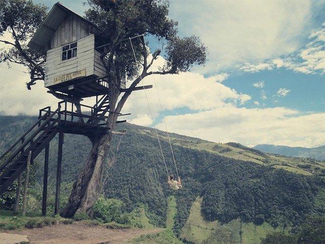 Treehouse Swing at Casa Del Arbol - Humble Homes