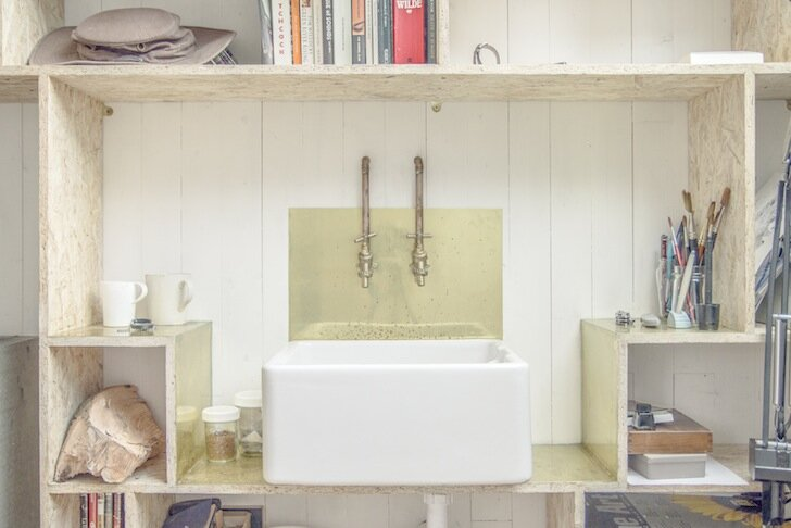 WSD Architecture - Tiny Writer's Studio Sink - London - Humble Homes