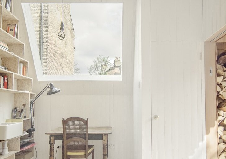 WSD Architecture - Tiny Writer's Studio - Writing Desk - London - Humble Homes