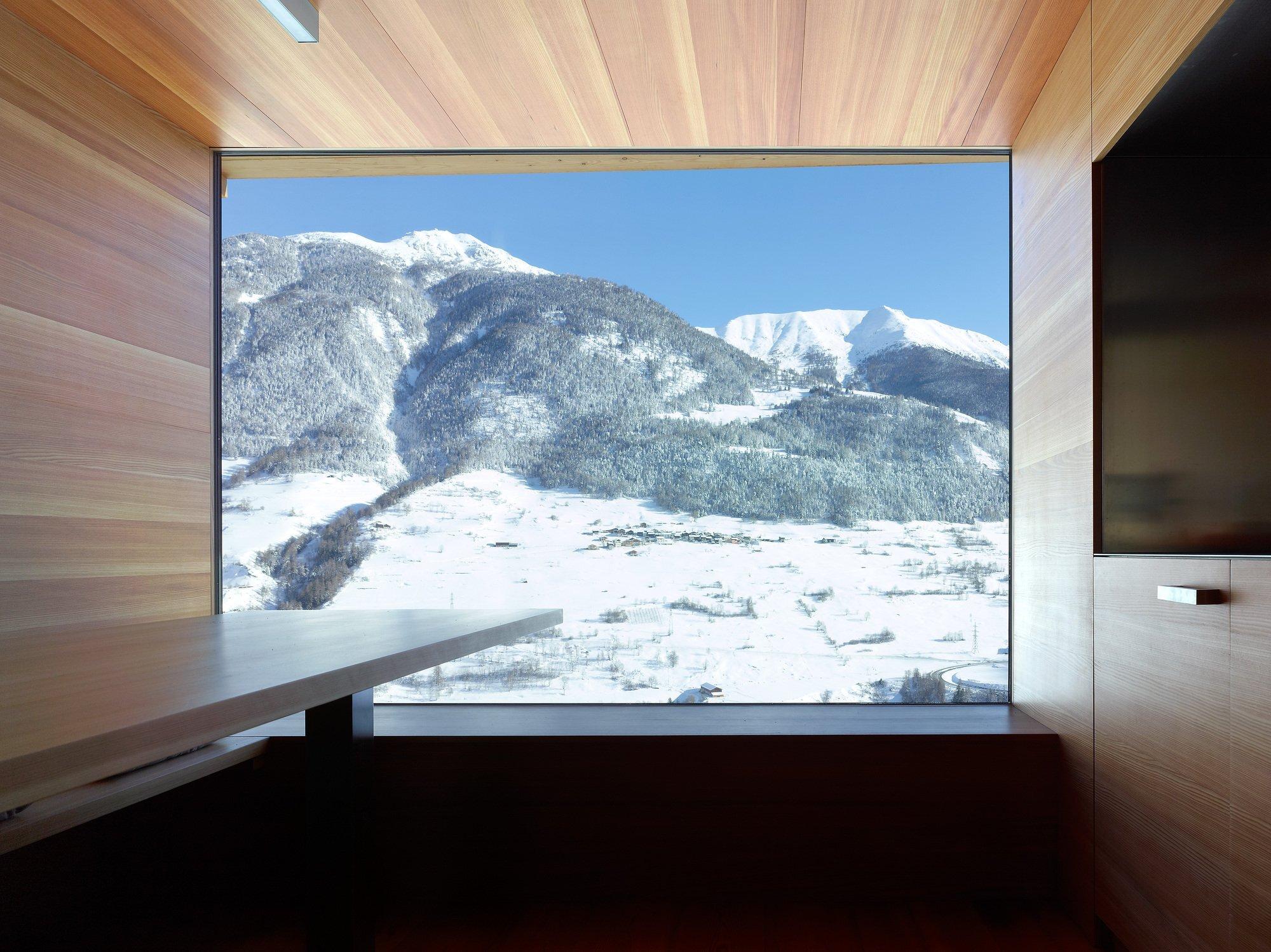Boisset House in Switzerland by Savioz Fabrizzi Architectes - Interior - Humble Homes