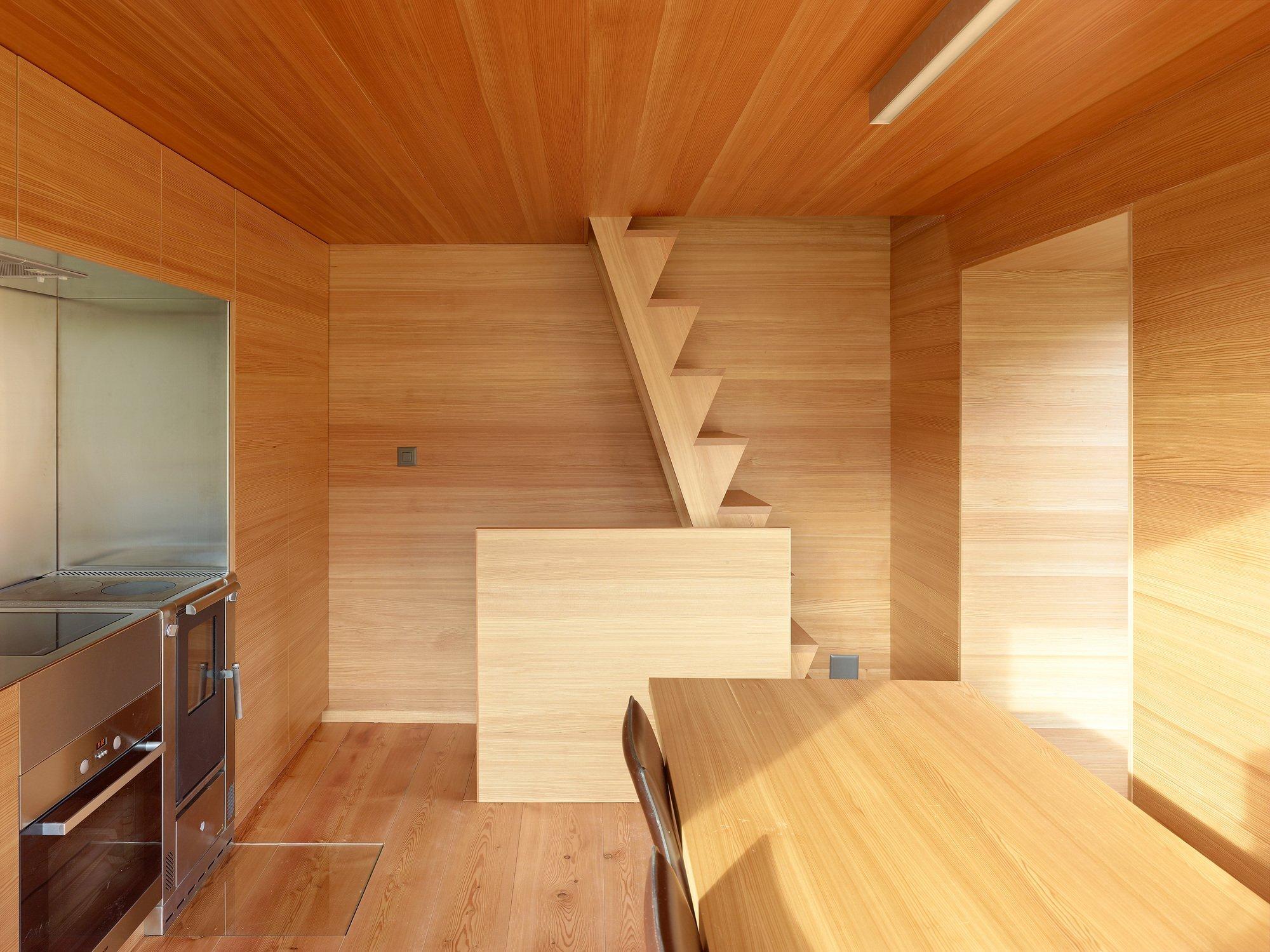 Boisset House in Switzerland by Savioz Fabrizzi Architectes - Kitchen - Humble Homes